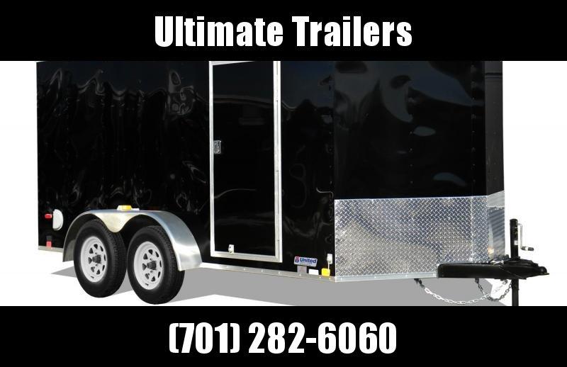 2019 United Trailers XLV714TA35-8.5-S Enclosed Cargo Trailer