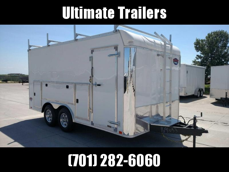 2020 United 8.5x16 Enclosed Tool Crib Trailer