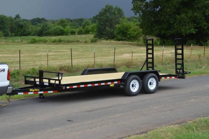 "2016 Big Tex Trailers 20' x 83"" Heavy Duty Equipment Trailer"
