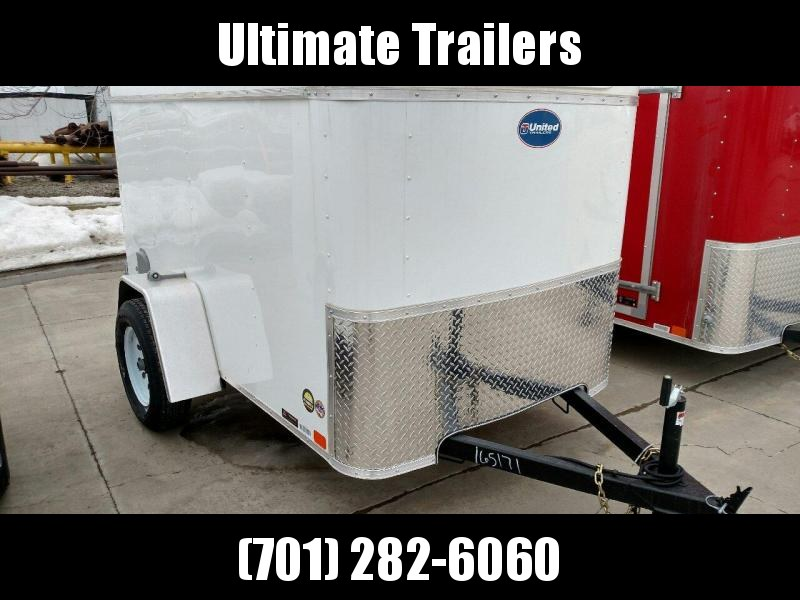 2019 United Trailers ULH58SA30-S Enclosed Cargo Trailer
