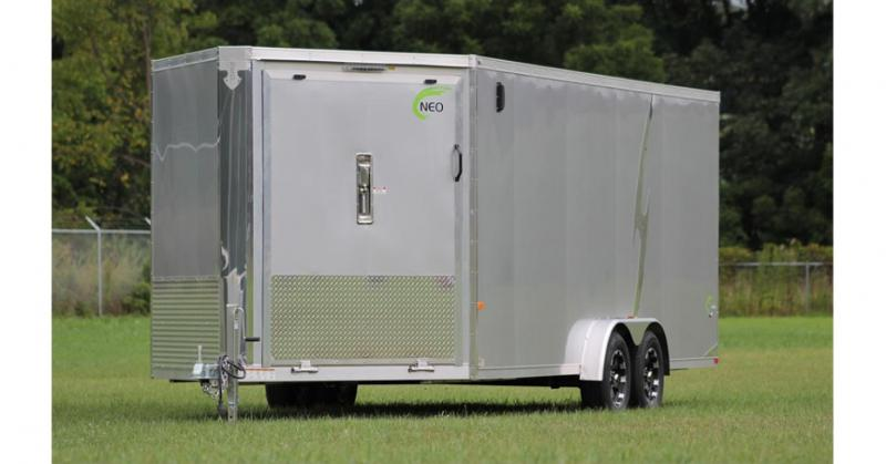2018 NEO Trailers NASF Flat Top All Sport Trailer