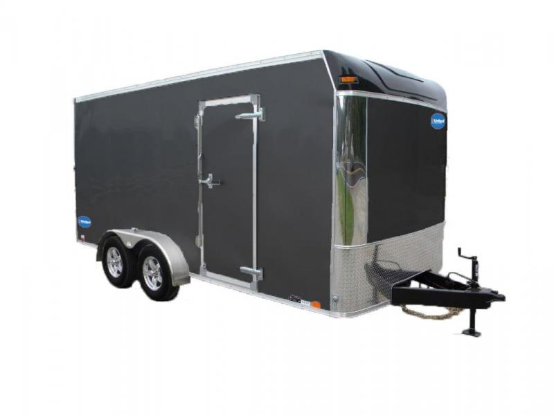 2018 United Trailers UXT Series Enclosed Cargo Trailer