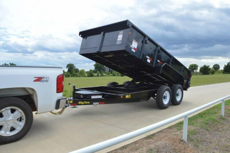 2016 Big Tex Trailers 14ft Low Profile Extra Wide 14k Dump