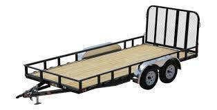 "2019 PJ Trailers 83"" Tandem Axle Channel Utility Trailer"