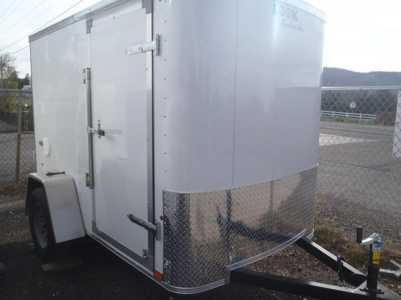 5x8 ST Enclosed Trailer Side Door and Double Doors