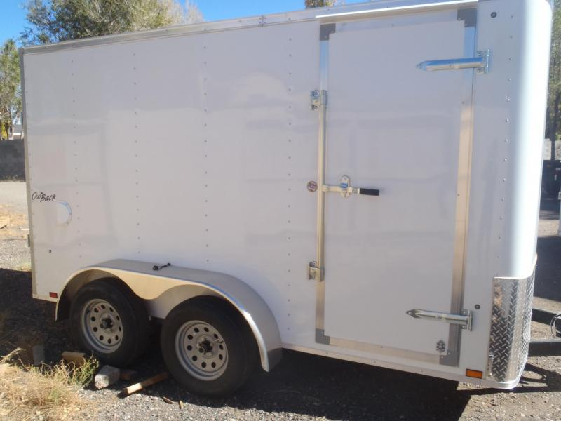 6x12 Enclosed Trailer Tandem Axle