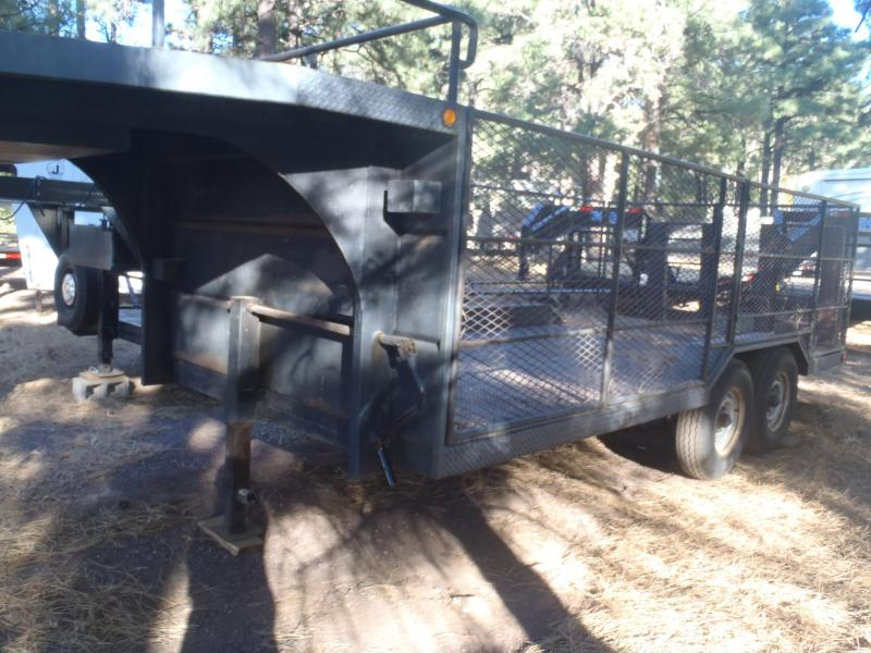 1995 Homemade 8X16 Flatbed Trailer