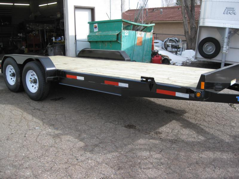 82X20 Carhauler 10000# GVW Equipment Hauler