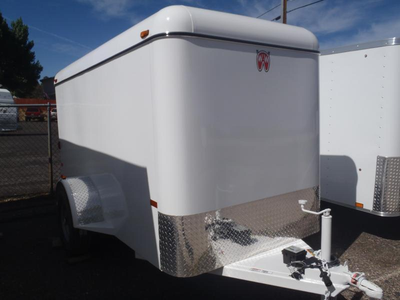 2018 W-W Trailer 5X10 Mini Cargo Carrier Enclosed Cargo Trailer