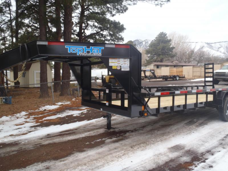83X20 Heavy Hauler Gooseneck 14K Equipment Trailer