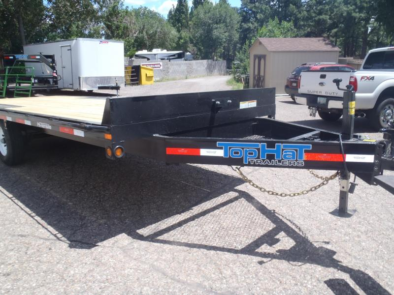 102 X 20 Deck OverEquipment Hauler with ramps