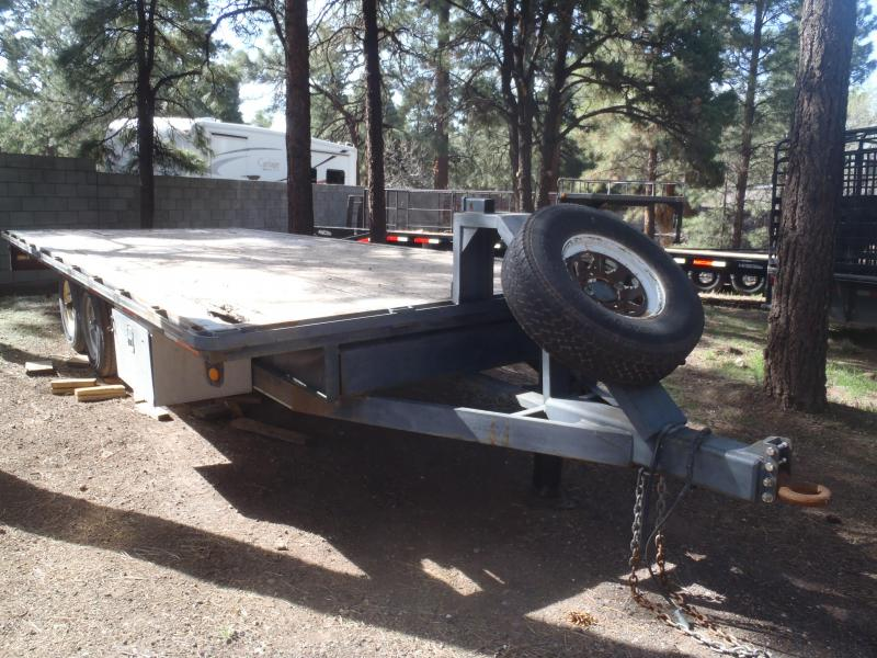 96 X 16 Deck Over Equipment Hauler