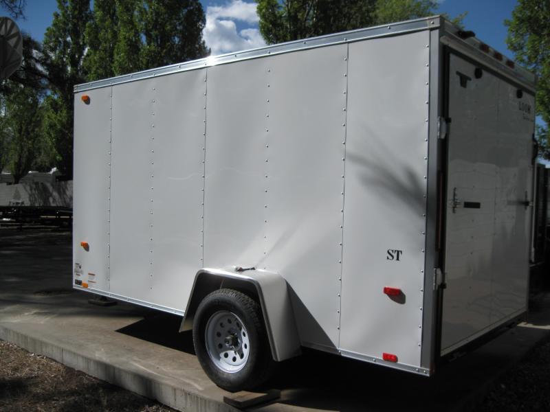 """6x12 Outback Cargo 6"""" ex Height rear ramp door"""