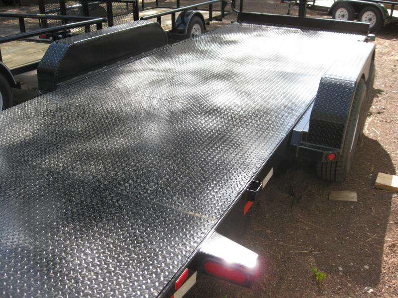 83X20 Tilt Deck Steel Deck Equipment Trailer