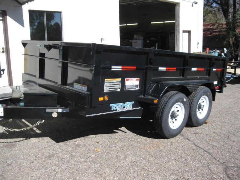 7 X 12 12000 lb G.V.W. Dump Trailer