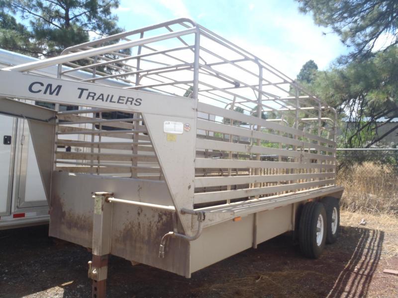 2005 CM 16 GN Stock Trailer Livestock Trailer