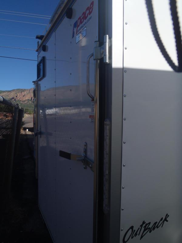 6x12 ST Enclosed Trailer Ramp Door