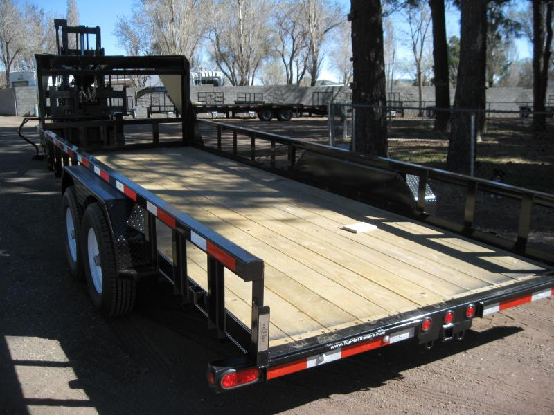 Gooseneck 83X20 Heavy Hauler 14K Equipment Trailer