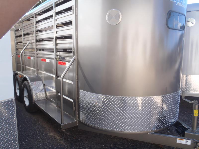 6 X 16 Brahama Livestock Trailer 3' Sides