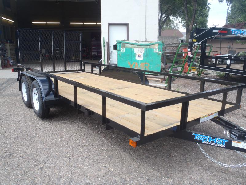 77X16 Light Duty Utility Trailer NO BRAKES