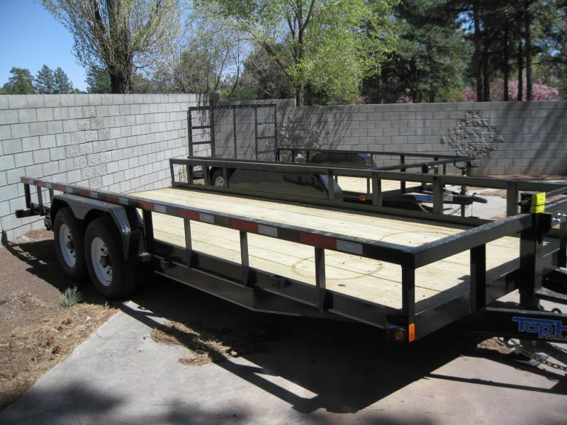 83X18 Heavy Hauler 12.5K Equipment Trailer