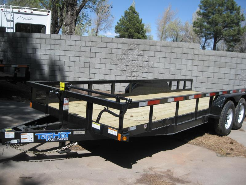 83X18 Heavy Hauler 14K Equipment Trailer