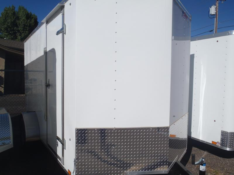 6x10 Outback Enclosed Trailer Ramp Door