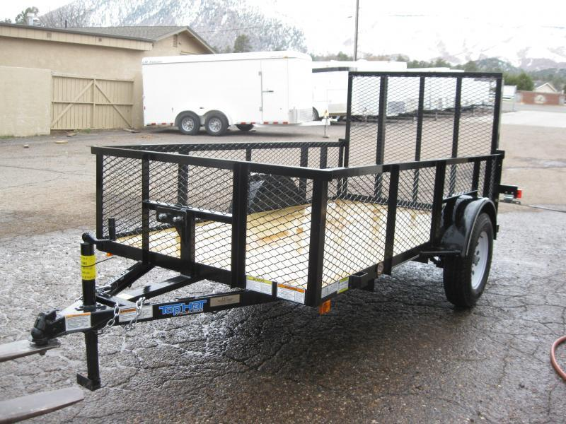 5X12 Lanscaper Utility Trailer with 2