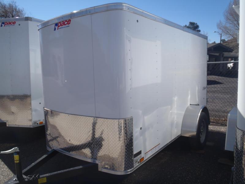 5x10 Outback Enclosed Trailer Side Door and Barn Doors