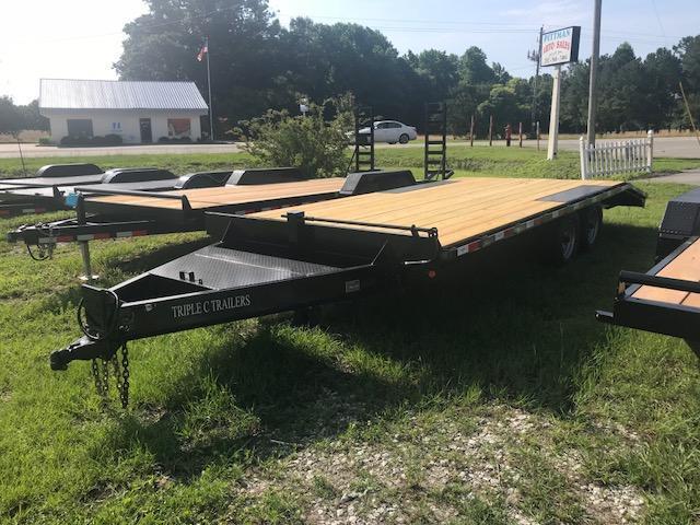 2018  20ft 10k Deck over Equipment Trailer Bumper Pull