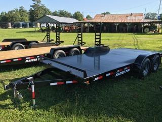 "2017 Master Tow 82""x18' 10k Car Hauler Equipment Trailer"
