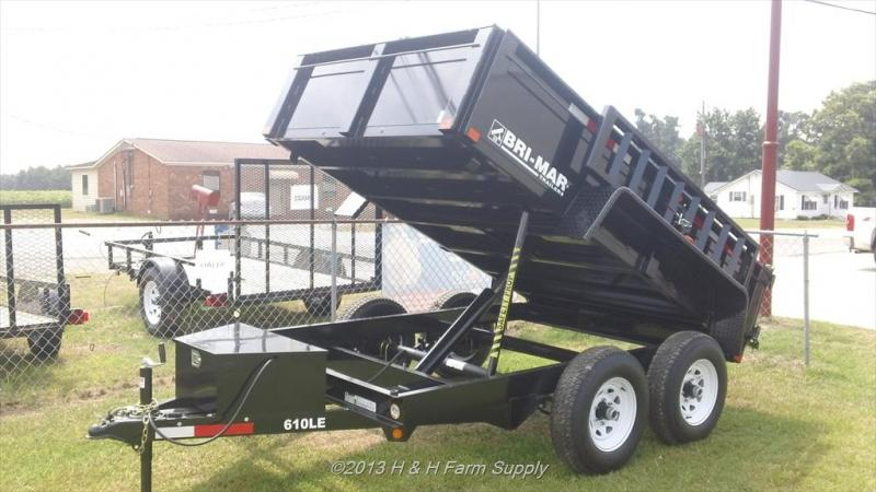 2014 Bri-Mar 6x10 Dump Trailer For Sale