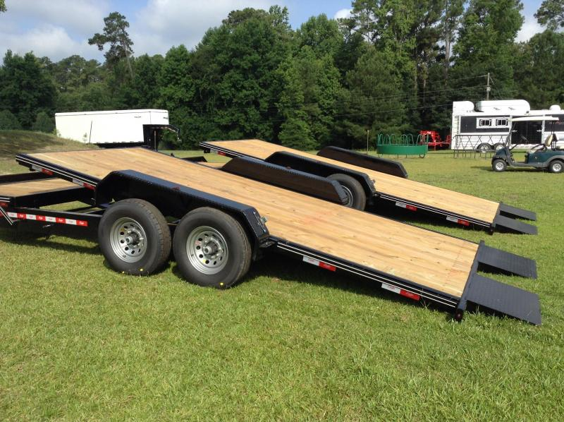 2016 Delta Manufacturing 27TB 20' Tilt Bed Equipment Trailer