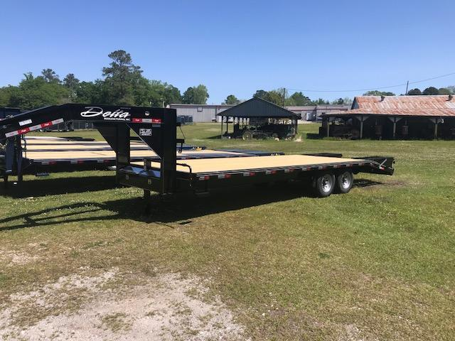 2018 Delta 25ft Equipment Trailer