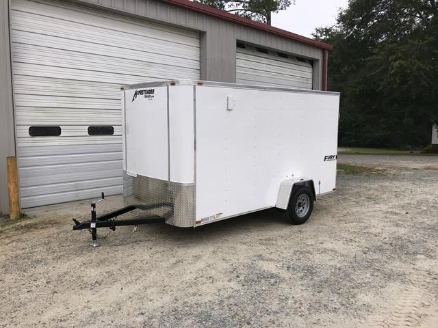 2018 Homesteader 6'x12' Fury Cargo Trailer with Barn Doors