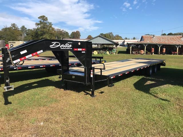 2019 Delta Manufacturing 32ft Tandem Dually Equipment Trailer