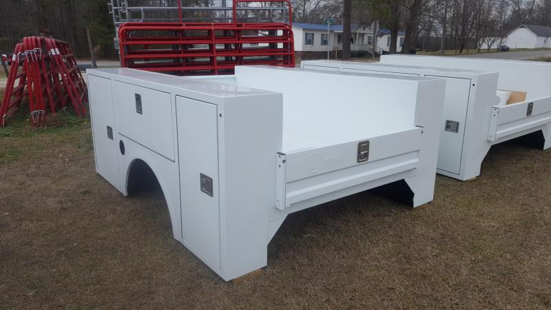 2018 Warner Service Body Truck Bed