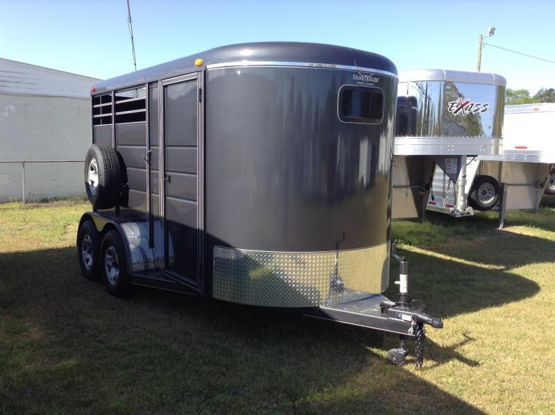Used 2016 Calico 2 Horse Trailer W/DR