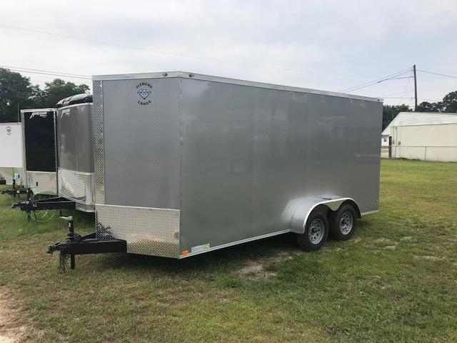 2018 Diamond Cargo Diamond 7x16 7 Tall Enclosed Cargo Trailer