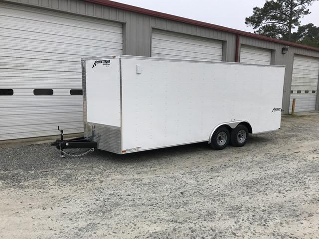 2018 Homesteader Patriot 8x20 Cargo Trailer