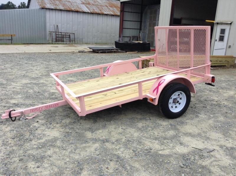 2015 Triple C Trailer Pretty In Pink