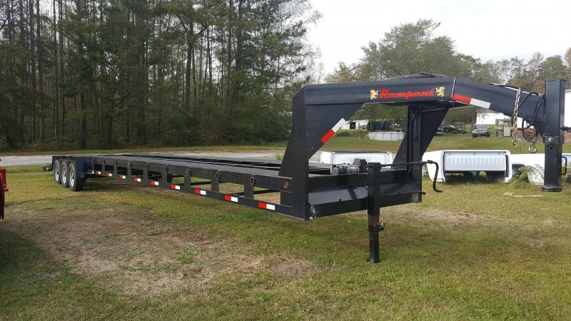 2017 Rampant Car Hauler Equipment Trailer