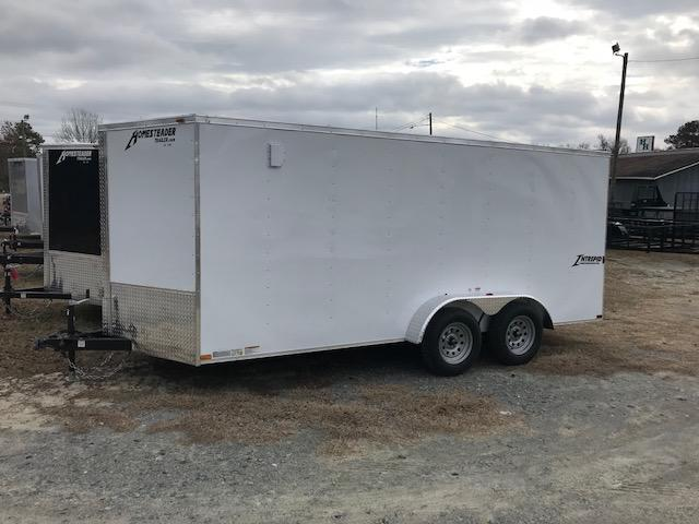 2018 Homesteader 7x16 Cargo Trailer