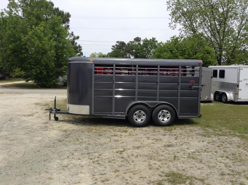 2015 Calico 16ft Stock Trailer