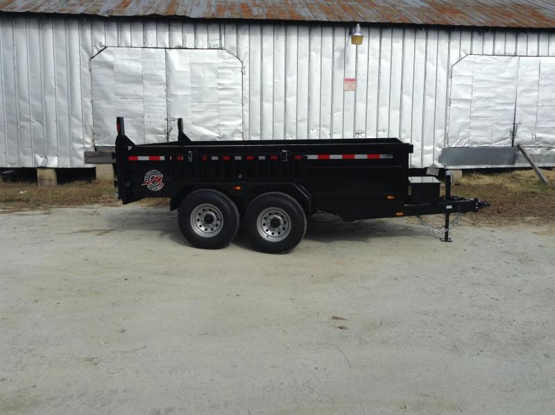 2017 Homesteader 7x12HX Dump Trailer