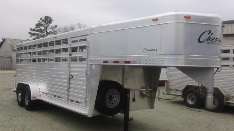 2006 Cherokee Trailer - Stockman