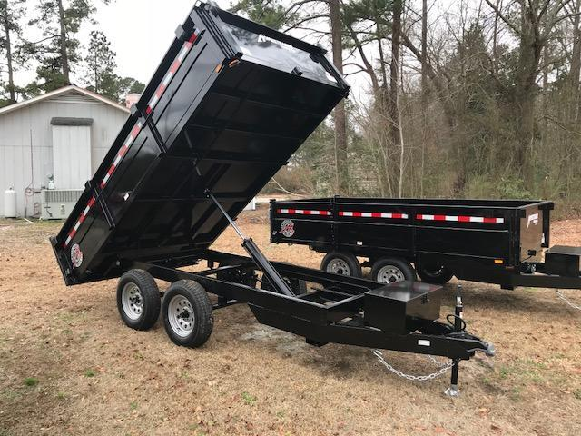 2017 Homesteader 6x12 Dump Trailer