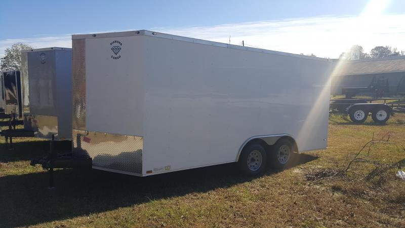 2019 Diamond  8.5X16 Enclosed Cargo Trailer