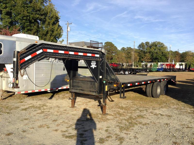 2003 Used PJ Flatbed Equipment Trailer