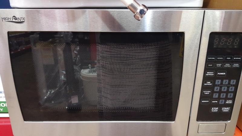 Stainless Steel High Pointe 1.0 CU FT 900-Watt Built-In RV Microwave